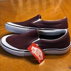 Men's Vans Slip-Ons Ultracush Pro Size 10 NEW